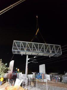 installation of infrastructure