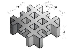 FRP Mini mesh