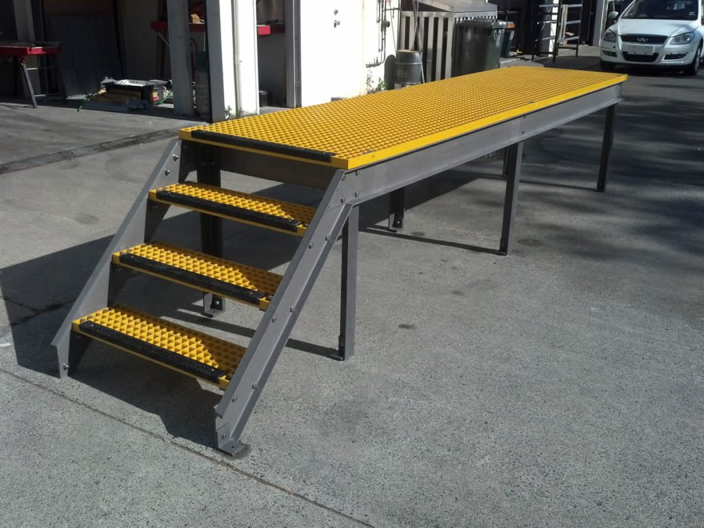 FRP structural fabrications - Walkway